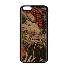 Chinese Dragon Apple iPhone 6/6S Black Enamel Case