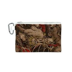 Chinese Dragon Canvas Cosmetic Bag (s)