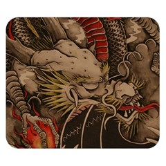 Chinese Dragon Double Sided Flano Blanket (small)