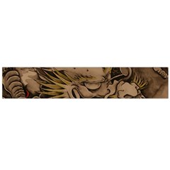 Chinese Dragon Flano Scarf (Large)