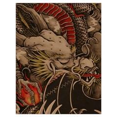 Chinese Dragon Drawstring Bag (Large)