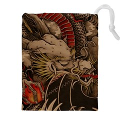 Chinese Dragon Drawstring Pouches (xxl)