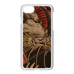 Chinese Dragon Apple Iphone 7 Seamless Case (white)
