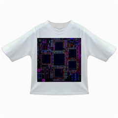 Technology Circuit Board Layout Pattern Infant/toddler T Shirts