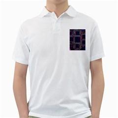 Technology Circuit Board Layout Pattern Golf Shirts