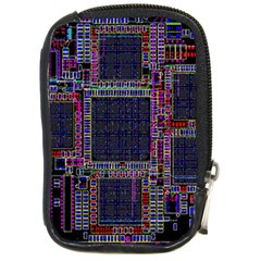 Technology Circuit Board Layout Pattern Compact Camera Cases