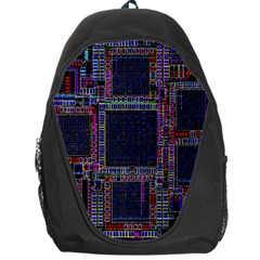 Technology Circuit Board Layout Pattern Backpack Bag