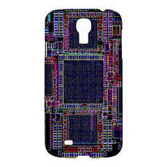 Technology Circuit Board Layout Pattern Samsung Galaxy S4 I9500/I9505 Hardshell Case