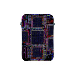 Technology Circuit Board Layout Pattern Apple Ipad Mini Protective Soft Cases