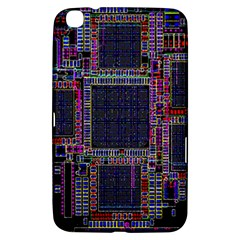 Technology Circuit Board Layout Pattern Samsung Galaxy Tab 3 (8 ) T3100 Hardshell Case