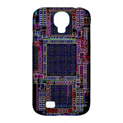 Technology Circuit Board Layout Pattern Samsung Galaxy S4 Classic Hardshell Case (pc+silicone)