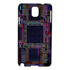 Technology Circuit Board Layout Pattern Samsung Galaxy Note 3 N9005 Hardshell Case