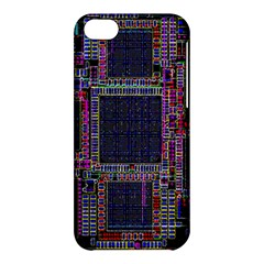 Technology Circuit Board Layout Pattern Apple Iphone 5c Hardshell Case