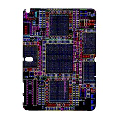 Technology Circuit Board Layout Pattern Galaxy Note 1