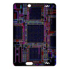 Technology Circuit Board Layout Pattern Amazon Kindle Fire Hd (2013) Hardshell Case