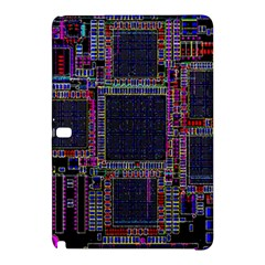 Technology Circuit Board Layout Pattern Samsung Galaxy Tab Pro 12 2 Hardshell Case