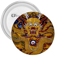 Chinese Dragon Pattern 3  Buttons