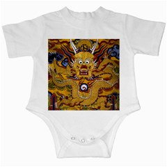 Chinese Dragon Pattern Infant Creepers