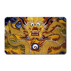 Chinese Dragon Pattern Magnet (Rectangular)