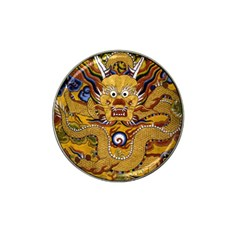 Chinese Dragon Pattern Hat Clip Ball Marker (4 pack)