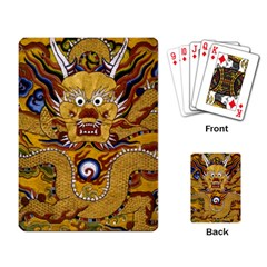 Chinese Dragon Pattern Playing Card