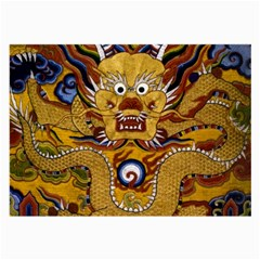 Chinese Dragon Pattern Large Glasses Cloth