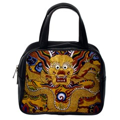 Chinese Dragon Pattern Classic Handbags (one Side)