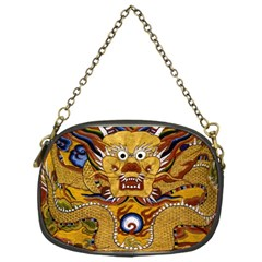 Chinese Dragon Pattern Chain Purses (one Side)