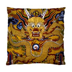 Chinese Dragon Pattern Standard Cushion Case (two Sides)