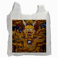 Chinese Dragon Pattern Recycle Bag (One Side)