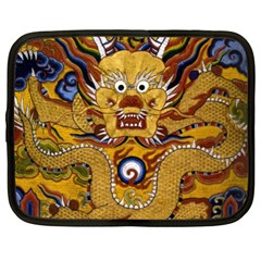 Chinese Dragon Pattern Netbook Case (XL)