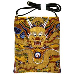Chinese Dragon Pattern Shoulder Sling Bags