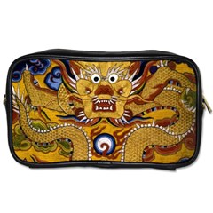 Chinese Dragon Pattern Toiletries Bags