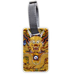 Chinese Dragon Pattern Luggage Tags (two Sides)