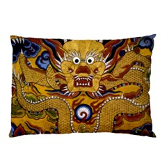 Chinese Dragon Pattern Pillow Case (two Sides)