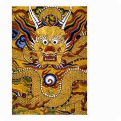 Chinese Dragon Pattern Small Garden Flag (two Sides)