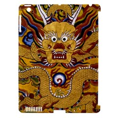Chinese Dragon Pattern Apple Ipad 3/4 Hardshell Case (compatible With Smart Cover)