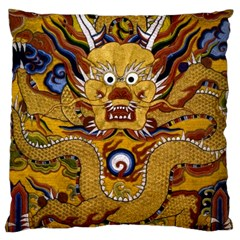 Chinese Dragon Pattern Large Cushion Case (two Sides)
