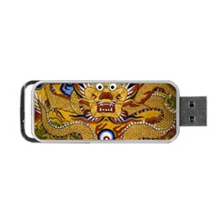 Chinese Dragon Pattern Portable Usb Flash (one Side)