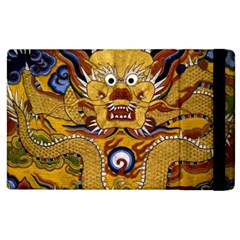 Chinese Dragon Pattern Apple Ipad 2 Flip Case