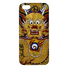 Chinese Dragon Pattern Iphone 5s/ Se Premium Hardshell Case