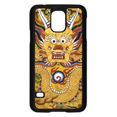 Chinese Dragon Pattern Samsung Galaxy S5 Case (black)