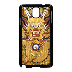 Chinese Dragon Pattern Samsung Galaxy Note 3 Neo Hardshell Case (black)