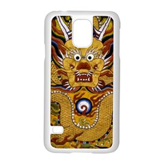 Chinese Dragon Pattern Samsung Galaxy S5 Case (white)