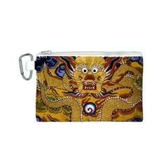 Chinese Dragon Pattern Canvas Cosmetic Bag (s)