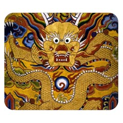 Chinese Dragon Pattern Double Sided Flano Blanket (Small)