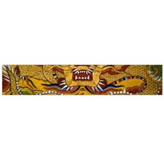 Chinese Dragon Pattern Flano Scarf (Large)