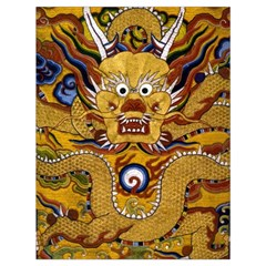 Chinese Dragon Pattern Drawstring Bag (large)