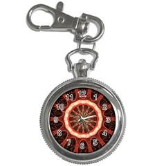 Circle Pattern Key Chain Watches