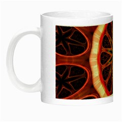 Circle Pattern Night Luminous Mugs